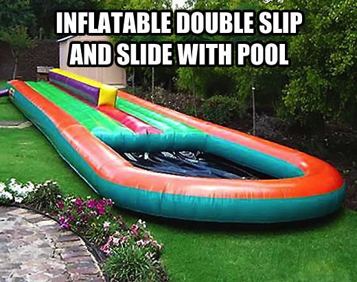 funny-inflatable-slip-pool-slide